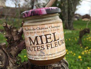 miel toutes fleurs Château-Champion