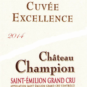 Cuvée Excellence 2014